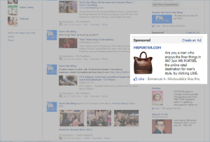 Facebook Advertising: Sponsored Stories