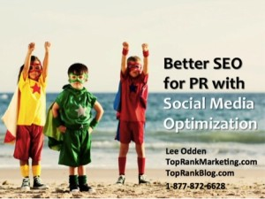 TopRank Presents at PRSA 2011: Advance Digital PR Skills with Social Media SEO