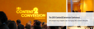 B2B Content2Conversion NYC Conference – Lee Odden Presenting