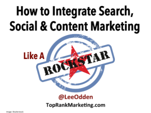 Integrated Search Social Content Marketing