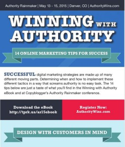 Online Marketing Infographic - Authority Rainmaker 2015