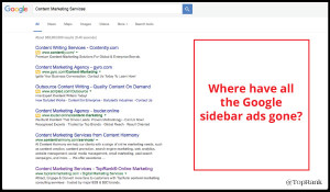 Google Ad Changes: More Top Ads! No Side Ads. More Bottom Ads?