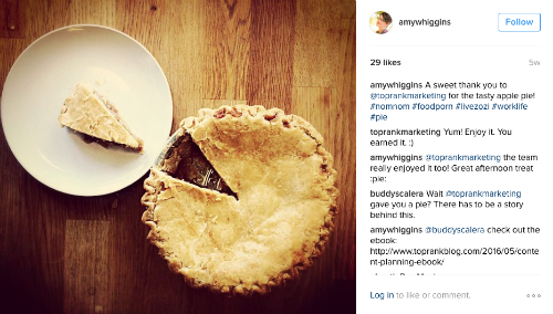 Amy Higgins Pie