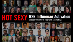 B2B Influencer Activation