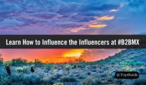 Lee Odden Teaches B2B Marketers How to Influence the Influencers at #B2BMX