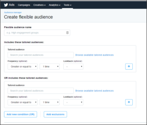 Twitter Targeting Update: Flexible Audiences Have Arrived