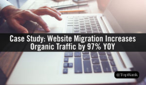 Seamless Website Migration Increases Organic Traffic by 97% YOY