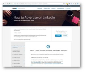 New LinkedIn Targeted Power Page Drives 3411% Increase in CTR