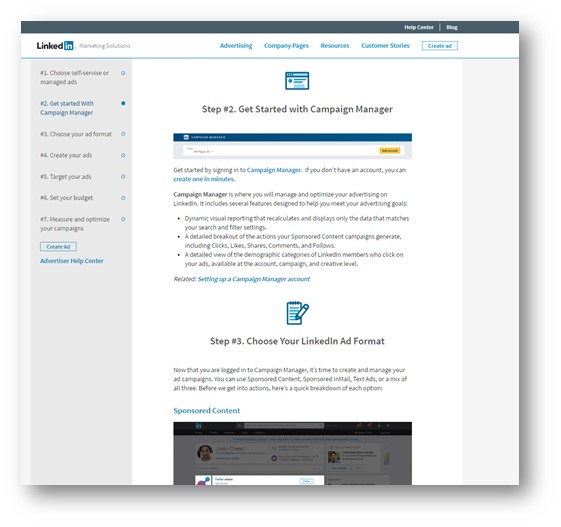 How To Advertise On Linkedin Instructions Newsroom