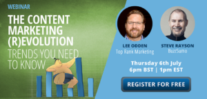 New Webinar: The Content Marketing (R)evolution – 5 Trends You Need to Know