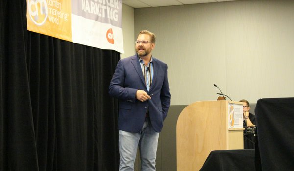 Lee Odden at Content Marketing World