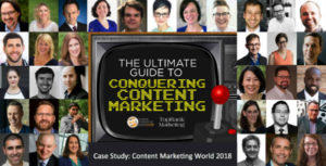 Content Marketing Case Study CMWorld 2018