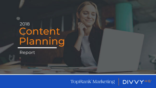 Marketing Results of Content Planning Report Program