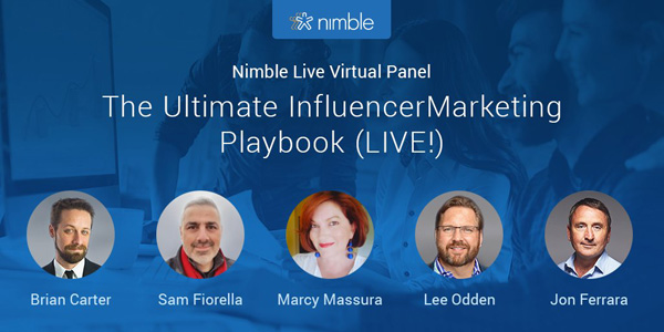 Lee Odden 2018 Nimble Virtual Panel