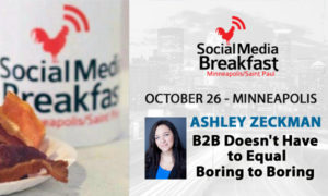 Social Media Breakfast Event With Ashley Zeckman