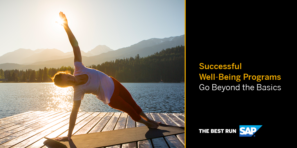 SAP Well-Being Programs Yoga Image