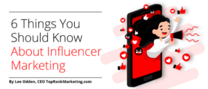 6 Things Influencer Marketing Header