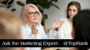Ask the Marketing Expert