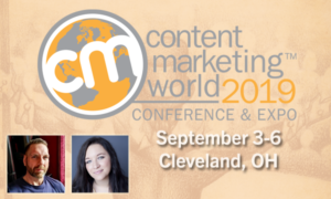 CMWorld 2019 Lee Odden & Ashley Zeckman Speaking