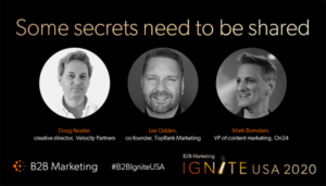 B2B Marketing Ignite Webinar Image