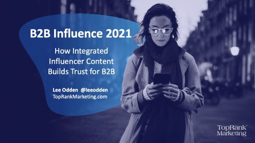 Integrated influence content NYU