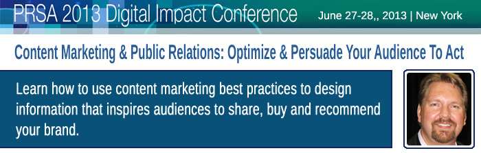 Content Marketing & Public Relations: Optimize & Persuade Your Audience to Act