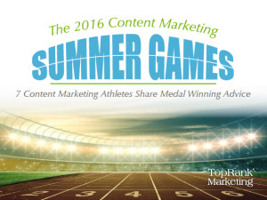 2016 Content Marketing Games