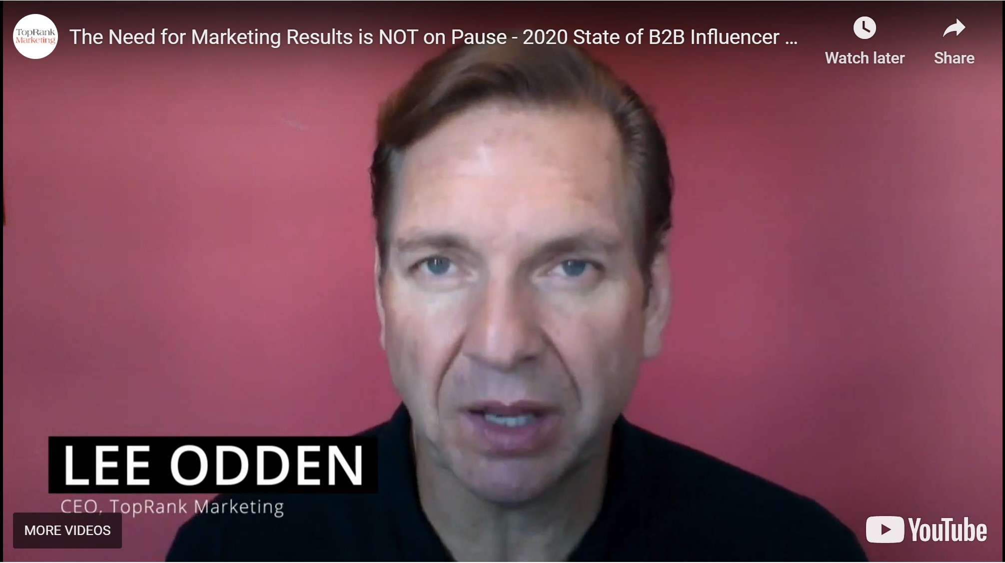 Marketing Results are NOT on Pause